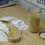Hand Packing Heirloom Seed