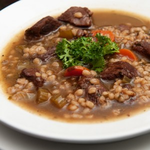 Beef, Barley and Root Vegetable Soup
