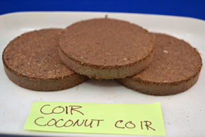 Compressed Coconut Coir
