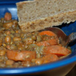 Wheat and Lentil Soup