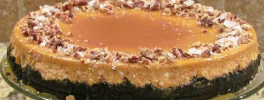 Pumpkin-Orange Cheesecake