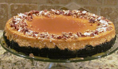 Pumpkin Orange Cheesecake