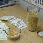 Hand Packing Heirloom Seed