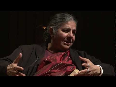 Video thumbnail for youtube video Conversation with Vandana Shiva | Underwood Gardens