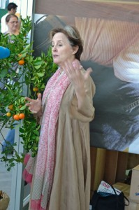 Alice Waters at Terra Madre