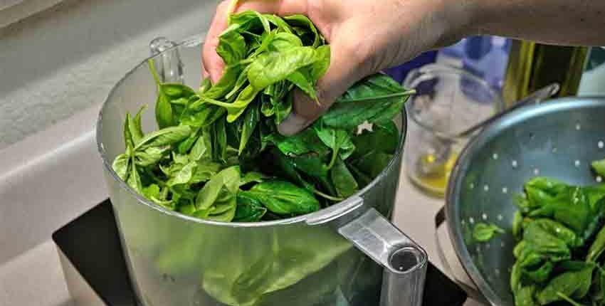 Adding Pesto- Ingredients