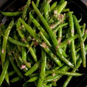 Green Beans with Dijon Vinaigrette