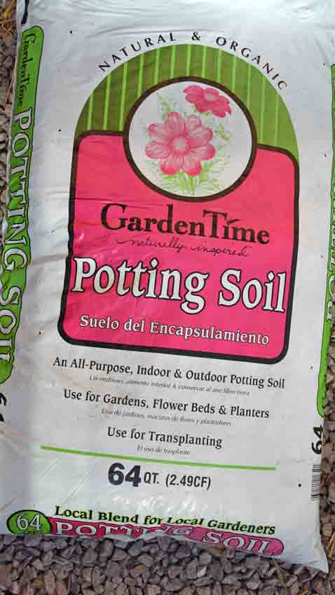 Potting soils the good the bad the ugly terroir seeds for Garden soil or potting soil