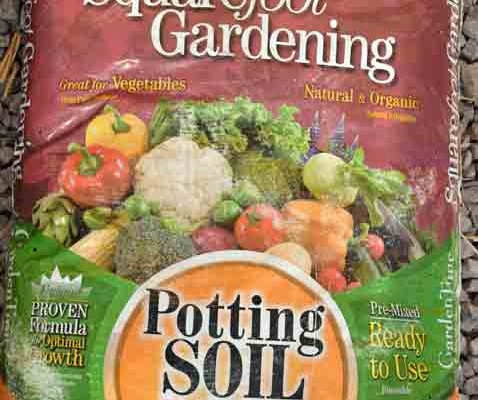 Square Foot Potting Soil